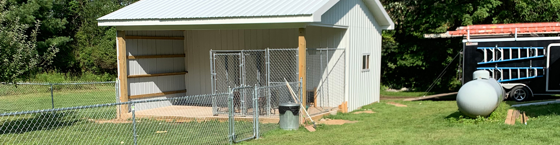 Dog Kennel - Howell Banner Image One