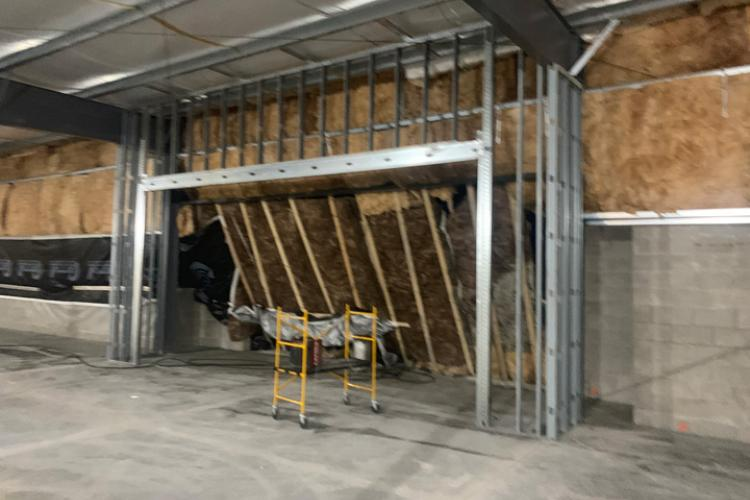 Dollar General Metal Framing - Lapeer