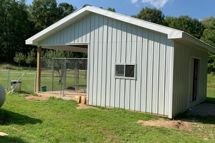 Dog Kennel - Howell